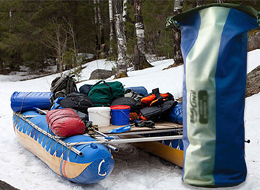 OUTDOOR INFLATABLE FABRICS - Weldable for waterbag, drybag, safety vest, air mattress