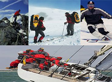 Lamination Fabrics - Warm keeping for snowing, sailing and outdoor activities.