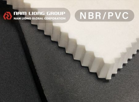 Busa NBR / PVC - Busa NBR/PVC memiliki karakteristik daya apung dan ketahanan minyak yang tinggi.