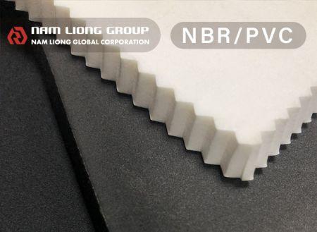 NBR / PVC橡塑海綿 - NBR/PVC發泡材料為一閉孔式結構之橡塑膠發泡海綿,具有高浮力及耐油性佳等性。
