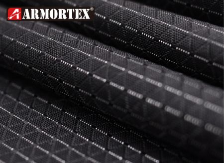 Nylon Woven Abrasion Resistant 3M Reflective Fabrics - ARMORTEX® Reflective Fabric