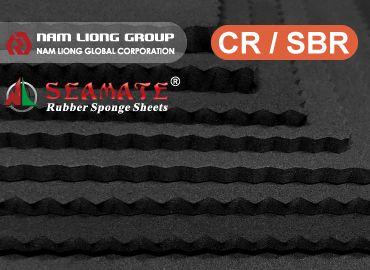 Spons karet stirena butadiena (SBR) - Karet kloroprena / busa majemuk Styrene butadiene rubber (SBR).
