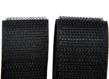 Soft Hook Fastening Tape - Soft hook has thinner yarn with softer hand feeling.
