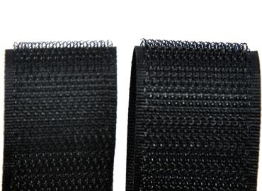 細鉤黏扣帶 - 細鉤粘扣帶,組織細緻,尼龍材質,柔軟觸感良好。