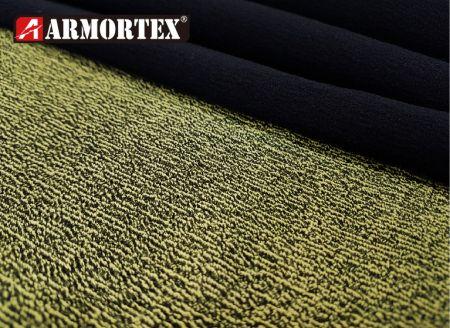 Kevlar® Nylon Water Repellent Abrasion Resistant Fabric - Kevlar blended stretch abrasion resistant fabric.