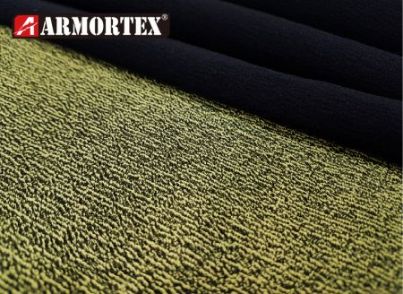 Kevlar Nylon Water Repellent Abrasion Resistant Fabric - Kevlar blended stretch abrasion resistant fabric.