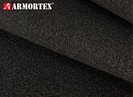 克維拉®高耐磨上膠耐磨布 - ARMORTEX® 凱芙拉黑色上膠彈性耐磨布