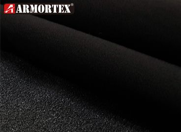 Kevlar Nylon Stretch Coated Abrasion Resistant Fabric - Kevlar blended stretch abrasion resistant fabric with coating.