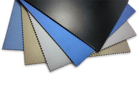 滑皮潛水衣料為經特殊表面處理的氯丁橡膠海綿潛水衣料。