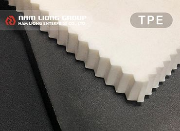 Thermoplastic Elastomer Foam - High-resilience and easy-fabrication Thermoplastic elastomer (TPE) foam.