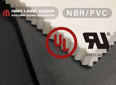 UL-1191認證救生背心浮力材料 - 通過UL-1191救生設備認證材料之浮力材,主膠為丁腈橡膠及聚氯乙烯,具有高浮力、耐油性、耐候性佳之特性。