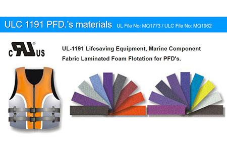 ULC 1191은 PFD의 재료를 승인했습니다 (ULC 파일 번호 MQ1962).