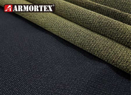 Kevlar Nylon Woven Coated Abrasion Resistant Fabric - Kevlar blended woven abrasion resistant fabric.