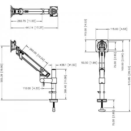 ईजीडीसी-302 विशिष्टता