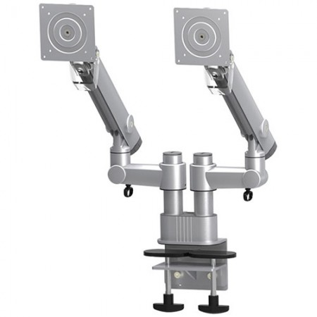 Dual Monitor Arm - Column Clamp or Grommet Mount - Dual Monitor Arm EGDF-202D / 302D