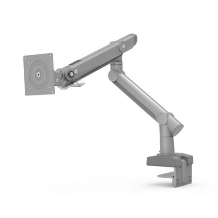 Single Monitor Arm - Clamp or Grommet Mount for Heavy Duty