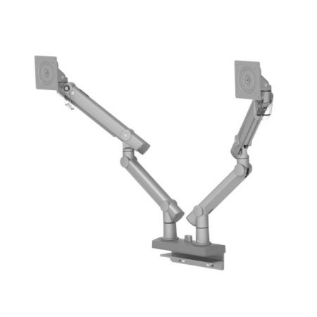 Dual Monitor Arm - Column Clamp or Grommet Mount