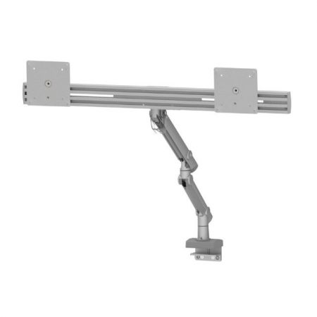 Dual Monitor Arm - Adjust Vertical or Horizontal Simultaneously