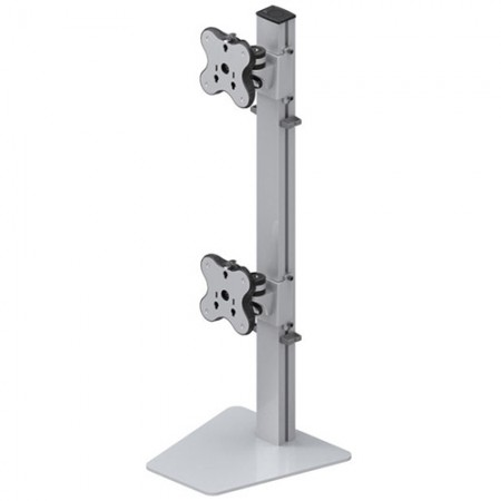 Dual Monitor Arm - Free Standing Type with 2 Layer