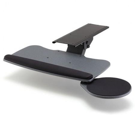 छोटे प्रकार और गोल माउस ट्रे के साथ कीबोर्ड ट्रे - EGK-700 कीबोर्ड ट्रे