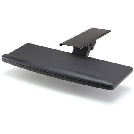 छोटे प्रकार के साथ कीबोर्ड ट्रे