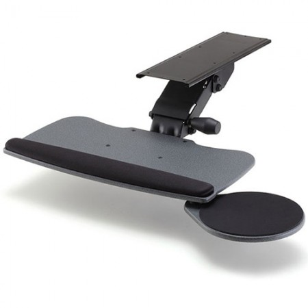 Keyboard Tray with Big Type and Round Mouse Tray - EGK-800 Keyboard Tray