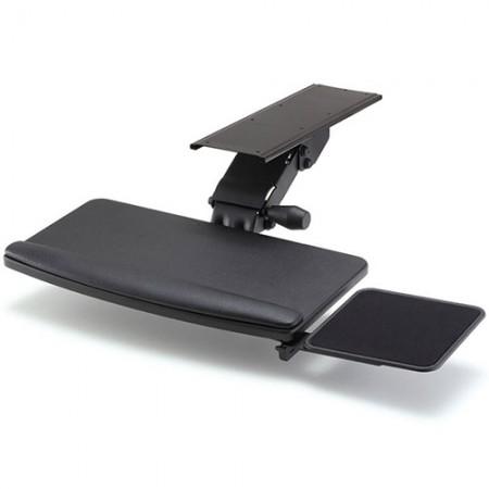 बिग टाइप और स्क्वायर माउस ट्रे के साथ कीबोर्ड ट्रे - ईजीके-821 कीबोर्ड ट्रे