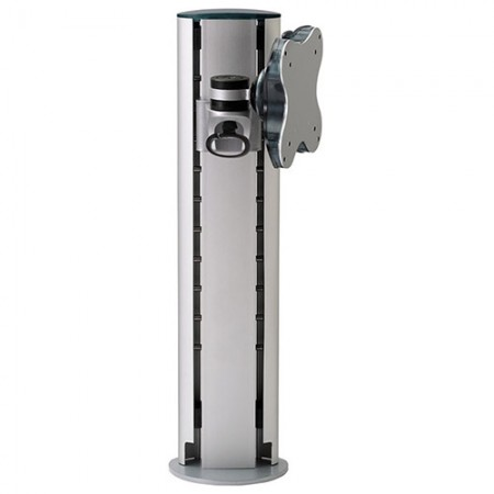 Single Monitor Arm - Clamp or Grommet Mount