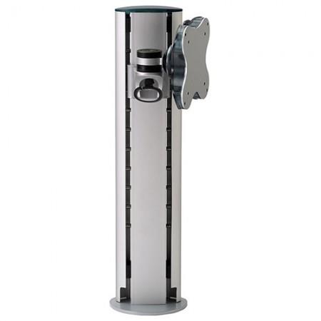 सिंगल मॉनिटर आर्म - क्लैंप या ग्रोमेट माउंट - सिंगल मॉनिटर आर्म EGL-200 / 300