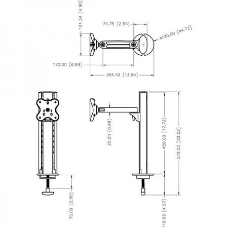 EGL-301 विशिष्टता