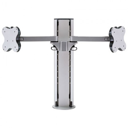 Dual Monitor Arm - Clamp or Grommet Mount