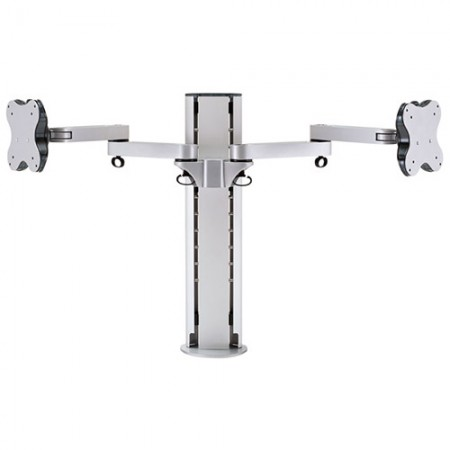 Dual Monitor Arm - Clamp or Grommet Mount - Dual Monitor Arm EGL-202D / 302D