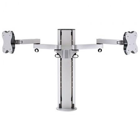 デュアルモニターアーム-クランプまたはグロメットマウント - デュアルモニターアームEGL-202D / 302D