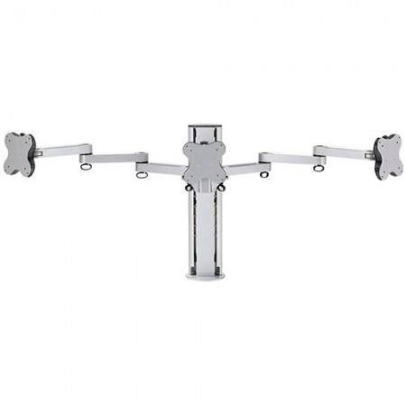Тройной кронштейн монитора - зажим или втулка - Тройной кронштейн для монитора EGL-203T / 303T
