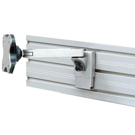 Single Monitor Arm - Slat Wall Mount - Single Monitor Arm EGL-401
