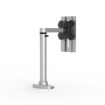 Single Monitor Arm - Die-Casting Base / Steel Pole