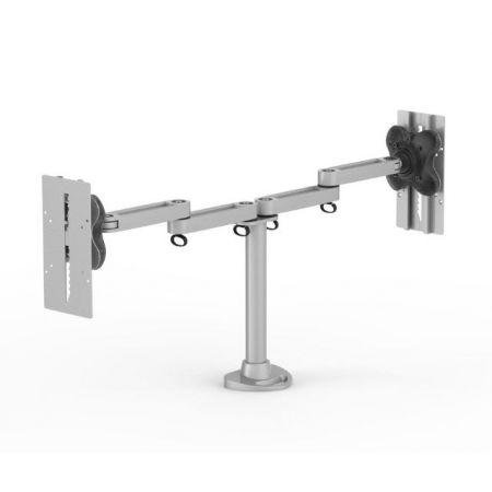 Dual Monitor Arm - Die-Casting Base - Dual Monitor Arm EGL3-202D / 302D