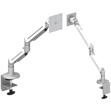 Single Monitor Arm - Clamp or Grommet Mount for Light Duty