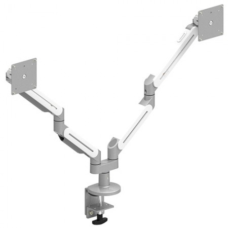 デュアルモニターアーム-軽量用のクランプまたはグロメットマウント - デュアルモニターアームEGNA-202DK / 302DK