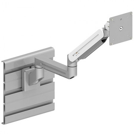 Single Monitor Arm - Slat Wall Mount for Light Duty