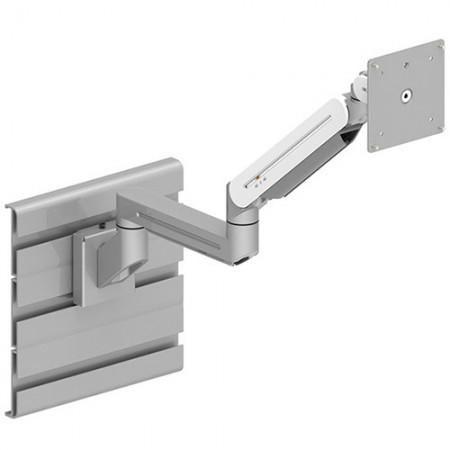 Single Monitor Arm - Slat Wall Mount for Light Duty - Single Monitor Arm EGNA-402