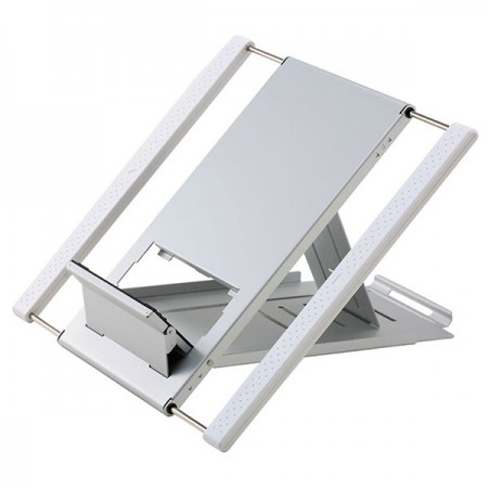 White Laptop Stand