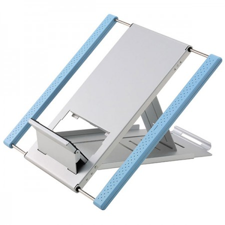 Blue Laptop Stand