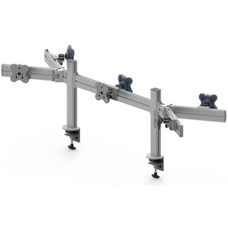 Tool Bar Back to Back System (EGTB) - Six Monitor Arms EGTB-4513DW / 4513DWG