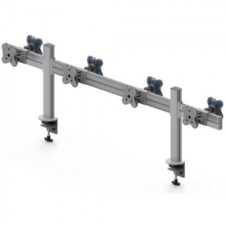 Tool Bar Back to Back System (EGTB) - Eight Monitor Arms EGTB-4514D / 4514DG