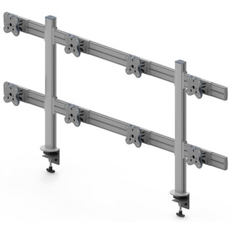 Tool Bar System (EGTB) - Eight Monitor Arms EGTB-8028 / 8028G
