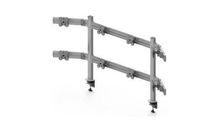 Eight Monitor Arms - Eight Monitor Arms