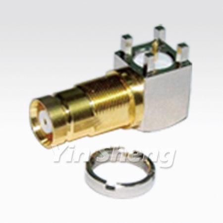 1.6/5.6 Jack Raight Angle PCB Mount - 1.6/5.6 Jack Raight Angle PCB Mount