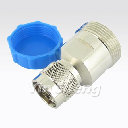 7-16 Jack to N Plug Adapter