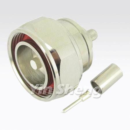 7-16 Plug Crimp for LMR240 Cable